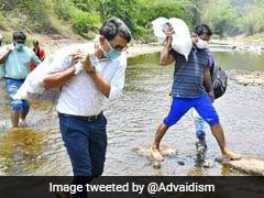 Kerala MLA, Collector Trek With Supplies To Help Tribal Communities