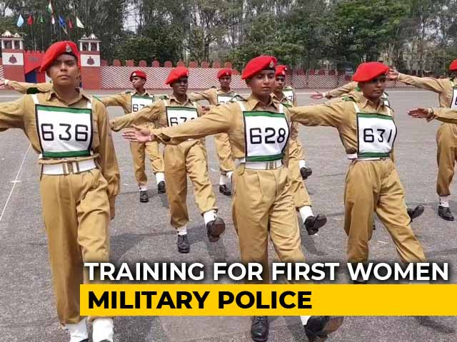 Video: 101 Young Women Recruits Being Trained By Army