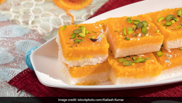 This Mango Coconut Barfi Is The Perfectly Sweet Summer Delight (Recipe Video Inside)