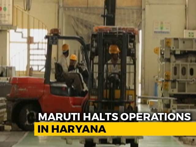 Video: Maruti Suzuki Suspends Production At Gurgaon & Manesar Plants