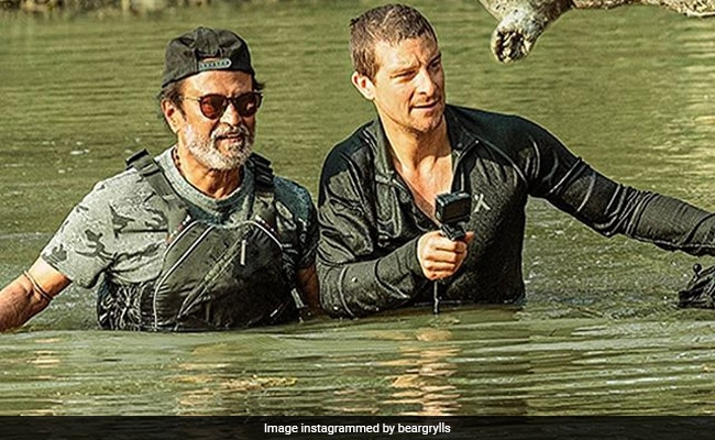 Rajinikanth On Into The Wild With Bear Grylls, Twitter Says 'Age Is Just A Number'