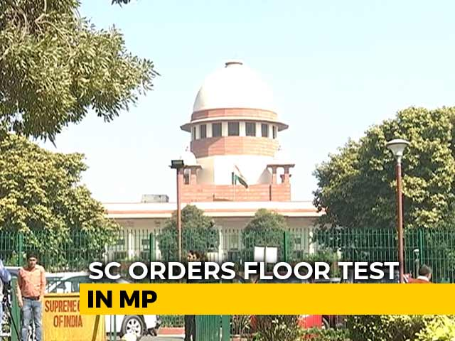 Video : Kamal Nath Must Face Floor Test By 5 PM Tomorrow, Says Supreme Court