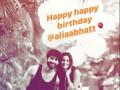 Shahid Kapoor's Birthday Post For Alia Bhatt Is Too Cute