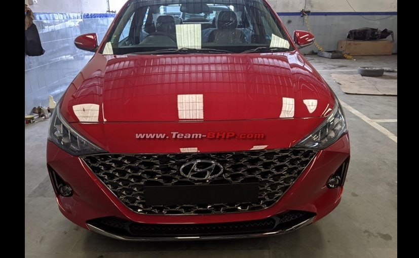 2020 Hyundai Verna Facelift Spotted Ahead Of Launch