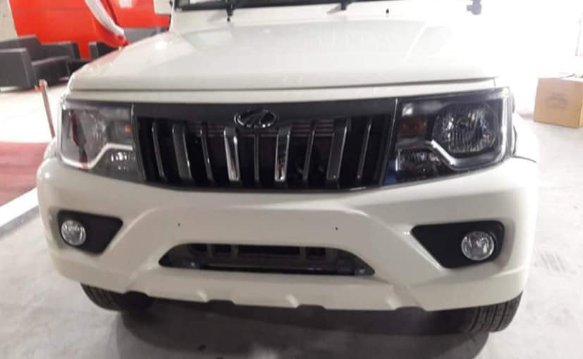 The 2020 Mahindra Bolero is expected to go on sale in India next month.
