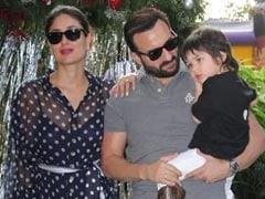 "Saif Ali Khan Or Taimur? Guess Who Kareena Kapoor's ""In-House Picasso"" Is"
