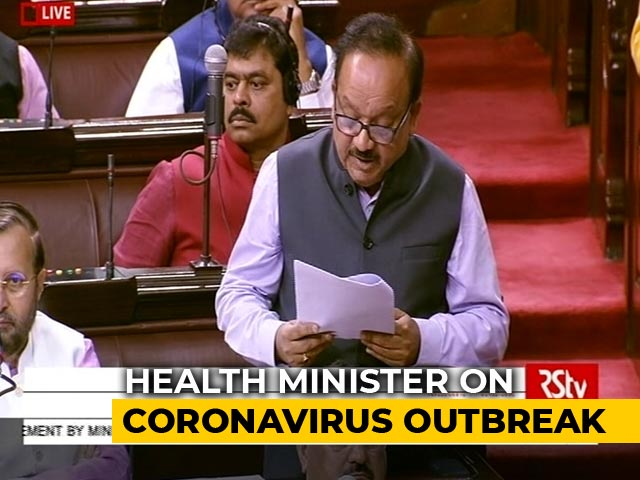 """Video : """"Confronted With New Challenges"""": Health Minister On Coronavirus In India"""