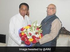 मध्य प्रदेश: राज्यपाल से मिले मुख्यमंत्री कमलनाथ, फ्लोर टेस्ट की मांगी तारीख