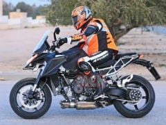 2021 KTM 1290 Super Duke GT Spotted On Test