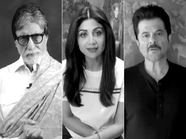 Video : Coronavirus: Bollywood Appeals And Cautions