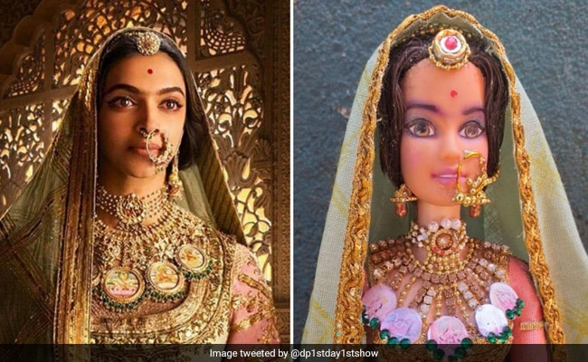 How Do We Unsee This Doll Inspired By Deepika Padukone In 'Padmaavat'?