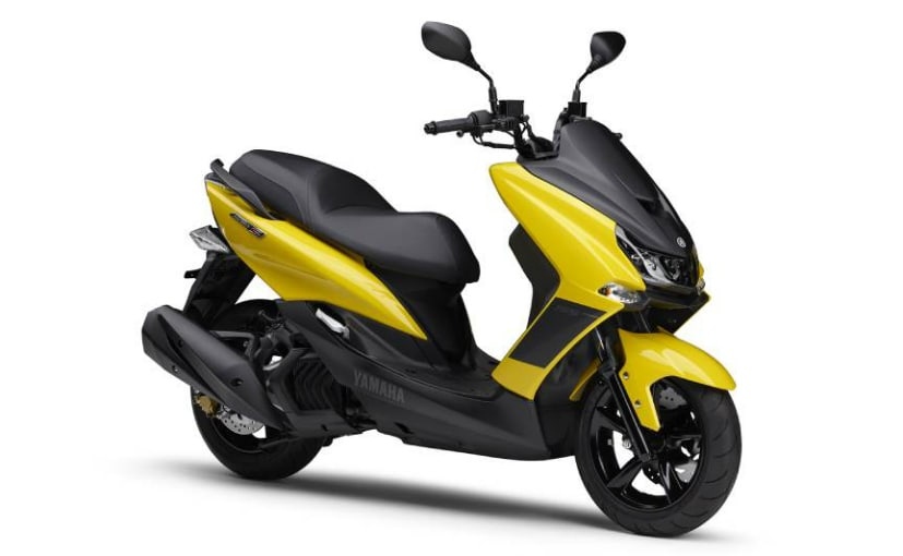 The Yahama Majesty S 155 scooter is priced at 3.45 lakh Yen or Rs. 2.45 lakh