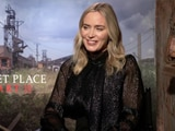 Video : Emily Blunt On <i>A Quiet Place Part II</i>, Working With John Krasinski & More