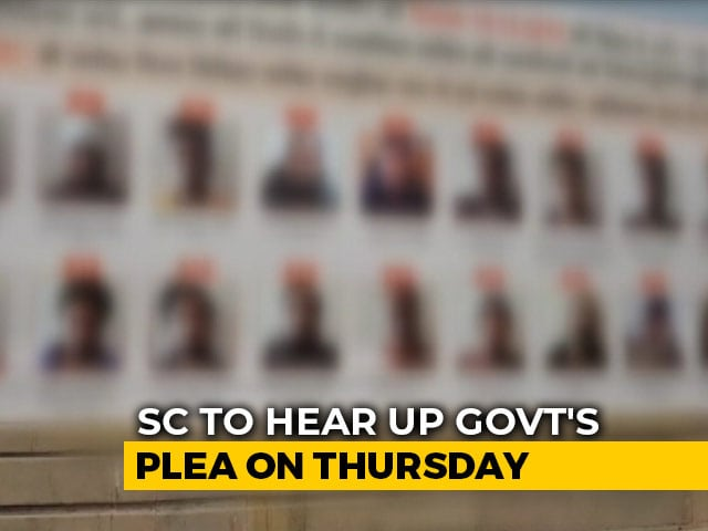 "Video : UP Goes To Supreme Court, Wants Freeze On Order To Remove ""Shame"" Posters"