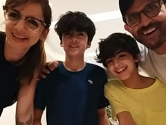 How Hrithik Roshan And Ex-Wife Sussanne Khan Celebrated Son Hrehaan's Birthday With Family