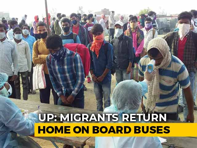 Video : 14-Day Mandatory Quarantine For Lakhs Of Migrants Returning To UP, Bihar
