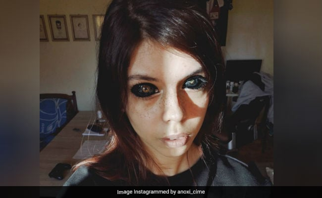 Model Loses Eyesight After Getting Eyeballs Tattooed Black How is it even possible to get ink in there and. model loses eyesight after getting
