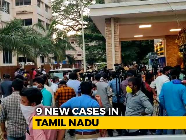 Video : Social Distancing A Distant Idea At Tamil Nadu Chief Minister's Briefing