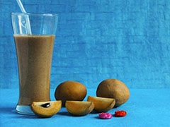Healthy Breakfast Recipe: Kick-Start Your Day With This Quick And Easy Chikoo-Date Smoothie