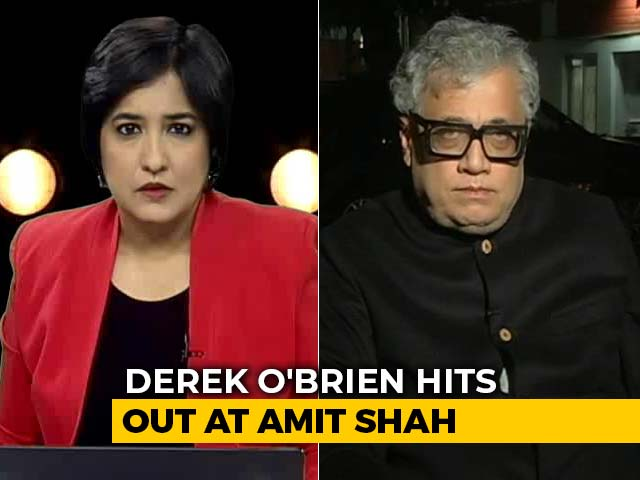 "Video : ""BJP Spreading Bigotry"": Derek O'Brien Hits Out At Amit Shah"