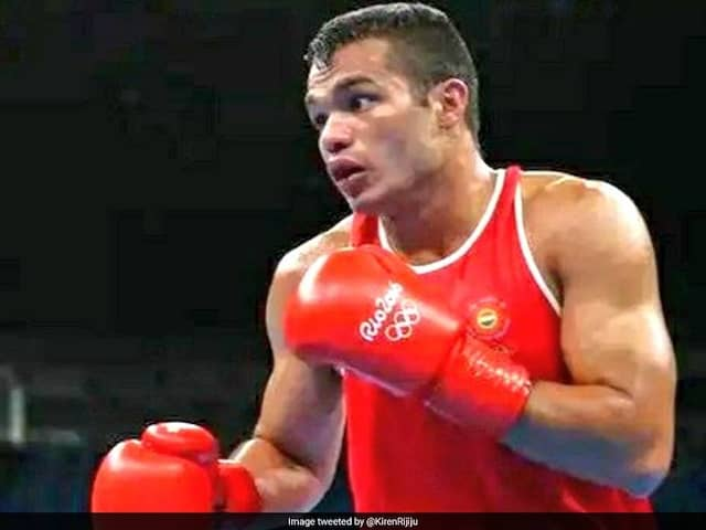 Olympic-Bound Boxer Vikas Krishan Gets Sports Authority Of India Nod To Train In US