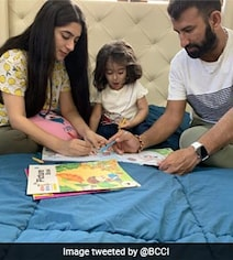 Pujara Spends 'Quality Time' With Family Amid COVID-19 Pandemic. See Pics