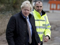 Watch: British PM Boris Johnson Heckled On Visit To Flooded London Areas