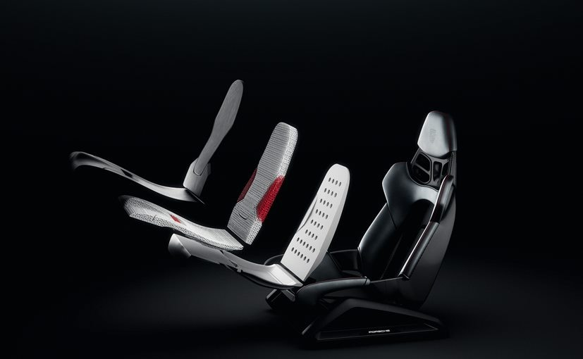 Porsche Comes Up With 3D-Printing Technology For Bucket Seats