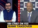 "Video: Yes Bank Moratorium Could End ""Within A Week"": SBI Chairman"