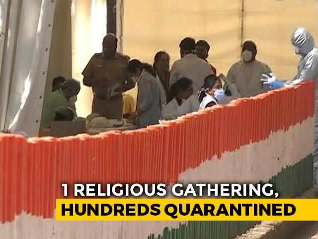 Video : Delhi Mosque Sealed After 7 COVID-19 Deaths, 850 Moved Out For Quarantine
