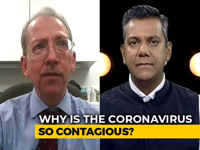 Video : Why Is The Coronavirus So Contagious?