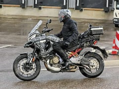 2021 Ducati Multistrada V4 Spotted On Test In Europe