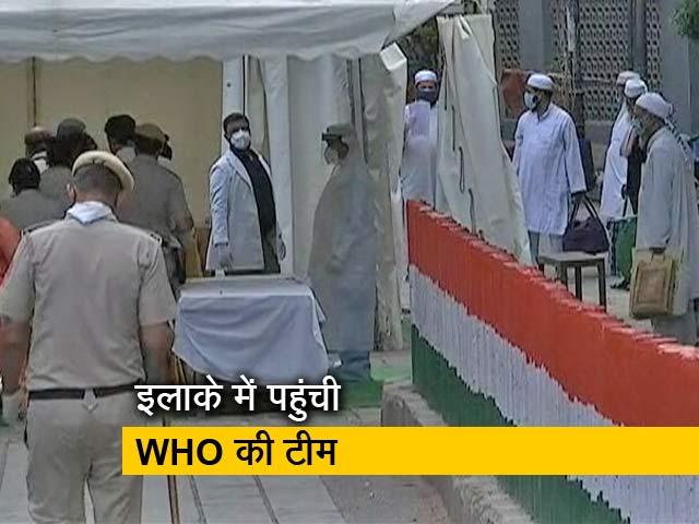 Video : दिल्ली के निजामुद्दीन इलाके से 300 लोगों को कोरोना की जांच के लिए ले जाया गया