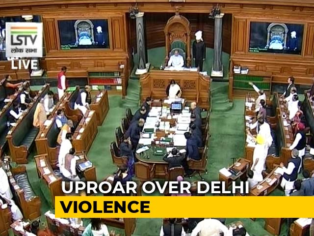 Video : Delhi Violence Rocks Parliament, Opposition Demands Discussion