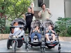 Sunny Leone, Daniel Weber Dance To Justin Timberlake For Their Kids