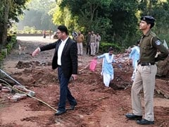 Part Of BJP MLA's Resort Demolished Over Encroachment In Madhya Pradesh