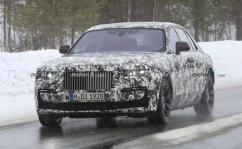 The new Rolls-Royce Ghost will be underpinned by a new platform.