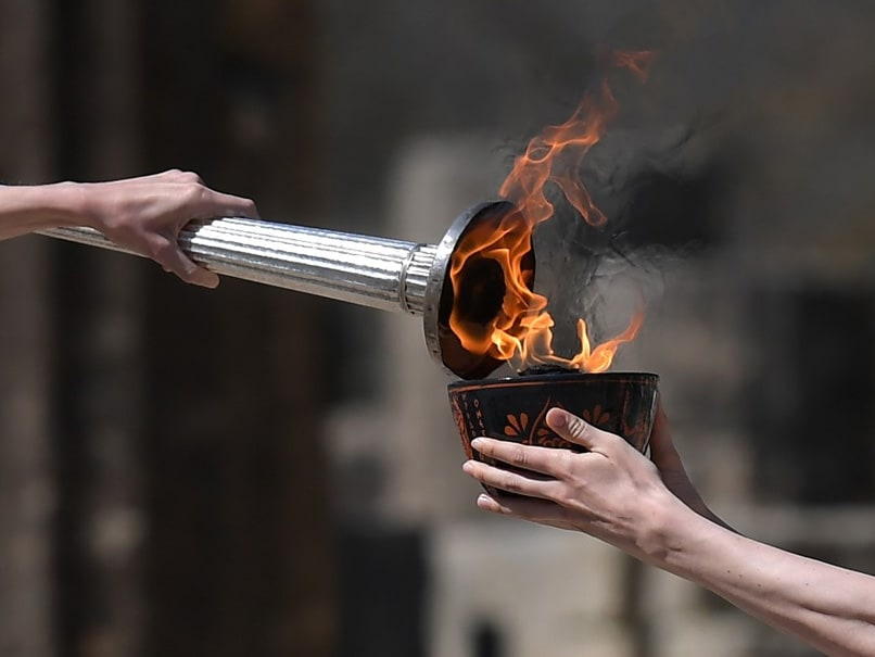 Olympic Flame Lighting In Greece Without Spectators Again