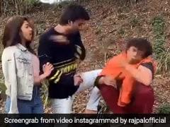 राजपाल यादव को शख्स ने लड़की के लिए मारा थप्पड़, थोड़ी देर बाद हुआ ऐसा...देखें Video