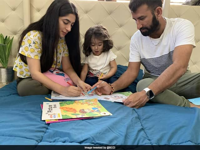 "Coronavirus: Cheteshwar Pujara Spends ""Quality Time"" At Home With Family Amid COVID-19 Pandemic"