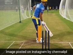 MS Dhoni ने आगे बढ़कर जड़ा ताबड़तोड़ छक्का, देखते ही लोगों ने किया ऐसा... देखें Viral Video