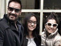 "International Women's Day 2020: Ajay Devgn ""Salutes"" The Women In His Life. Shares Pic With Wife Kajol And Daughter Nysa"