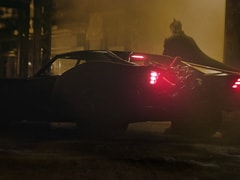 <I>The Darkest Knight</I> Yet? Robert Pattinson's Full Look In Batsuit And Batmobile