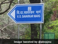 Road In JNU Named After Savarkar, Students' Body Slams Move