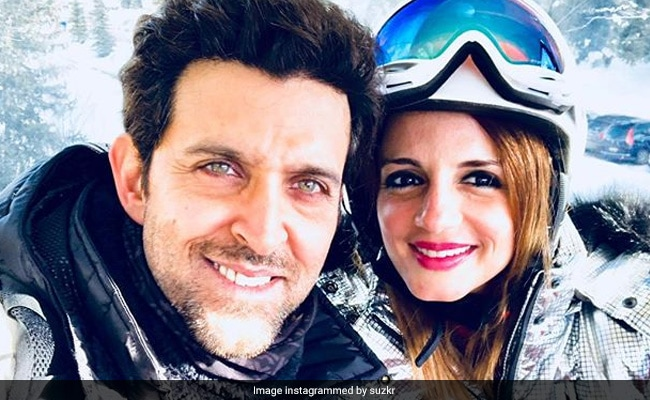 Sussanne Khan Drops Black Hearts On Ex-Husband Hrithik Roshan's 'Stay Real' Post