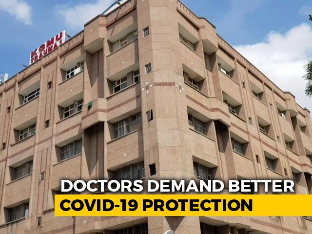 Video : Lucknow Doctor Gets COVID-19, Hospital Says No To Extra Protective Gear