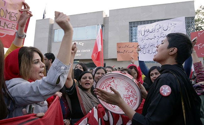 'They Can't Scare Us':  Pak Women's March Attacked; Shoes, Stones Thrown