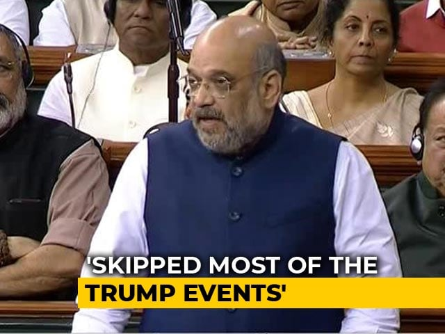 """Video : """"I Wasn't Absent, Was Holding Review Meetings"""": Amit Shah On Delhi Riots"""