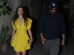 Malaika Arora Colour Blocks Like A Queen For Summer Days To Come