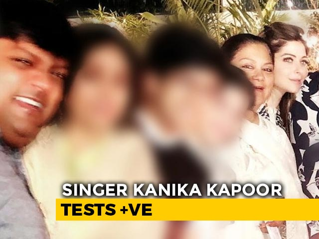 Video : Politicians Self-Isolate Over Dinner With Singer Kanika Kapoor, Covid-19+